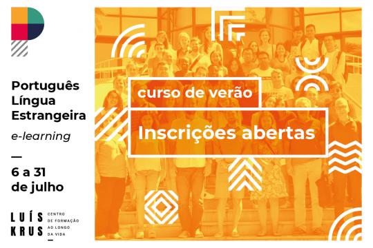 Inscrições abertas para o Curso de Português para Estrangeiros em regime de e-learning
