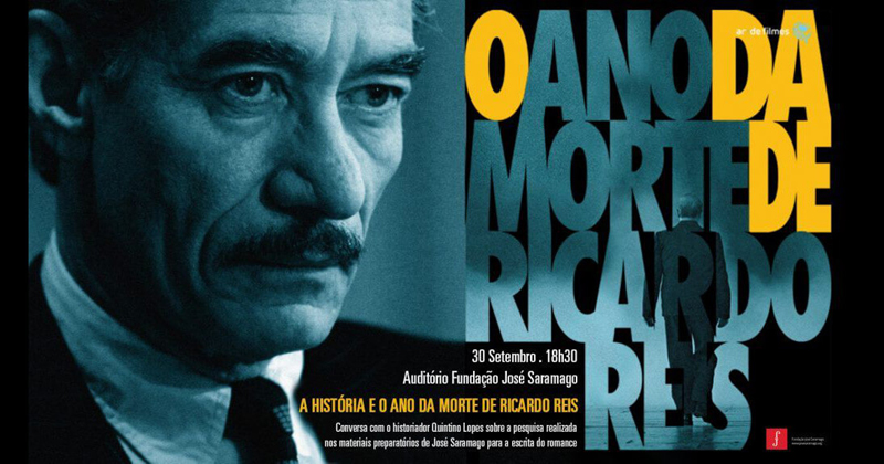 o ano da morte de ricardo reis - cartaz do filme