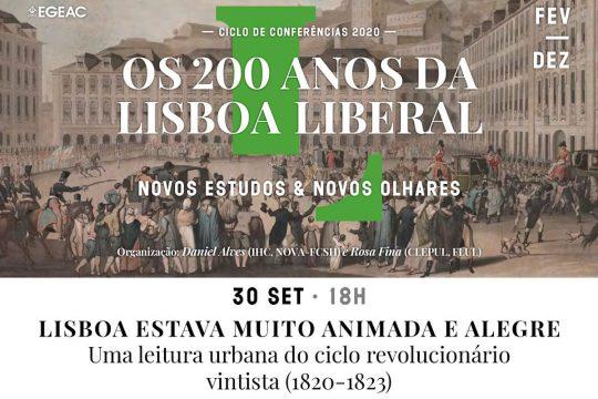 Lisboa estava muito animada e alegre: uma leitura urbana do ciclo revolucionário vintista (1820-1823)