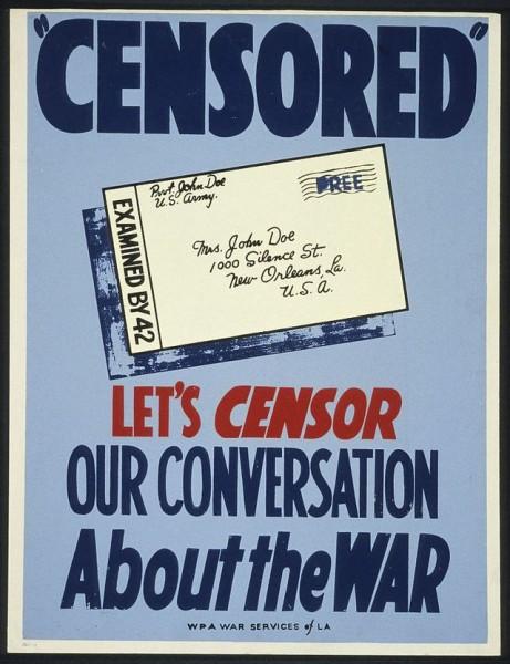 De que falamos quando falamos de censura? História, uso e disputas de um conceito