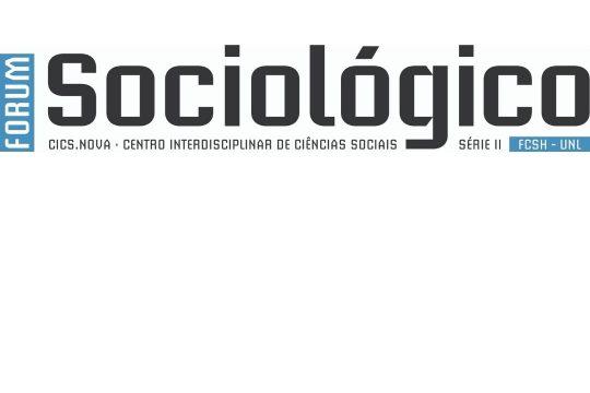 Revista Forum Sociológico 2020