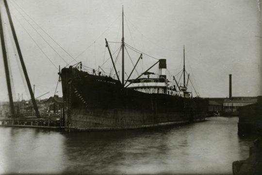 Investigadores da NOVA FCSH descobrem navio afundado por minas alemãs na barra do Tejo
