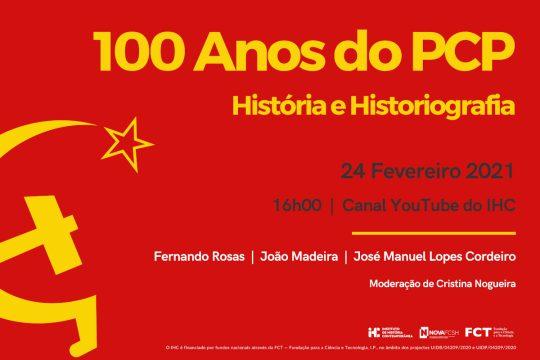 100 Anos do PCP. História e Historiografia