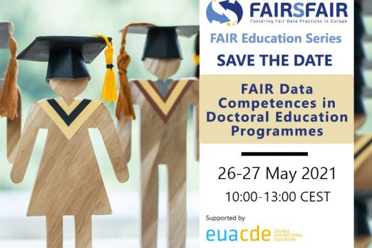 "Workshop ""FAIR Data competences in doctoral education programmes"""