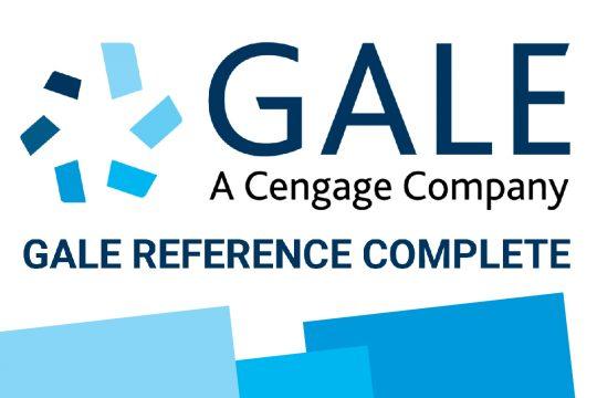 Acesso gratuito à plataforma Gale Reference Complete