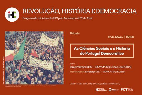 """""""As Ciências Sociais e a História do Portugal Democrático"""""""