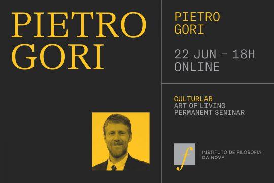 Art of Living Permanent Seminar with Pietro Gori