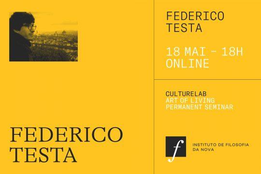 Art of Living Permanent Seminar with Federico Testa