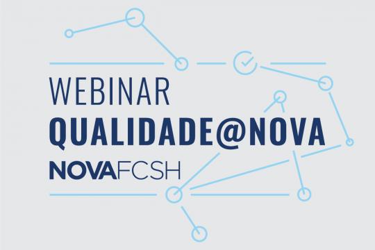 Webinar: Qualidade @NOVA