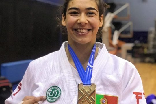 Judoca Patrícia Sampaio vai representar Portugal nos Jogos Olímpicos