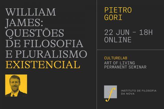 Art of Living Permanent Seminar: Pietro Gori