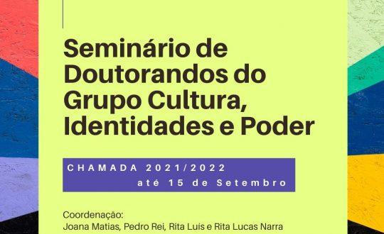 Seminário de teses de doutoramento do  CIP 2021/2022