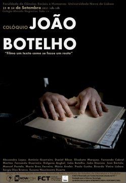 """Colóquio João Botelho """"Filmo um texto como se fosse um rosto"""""""