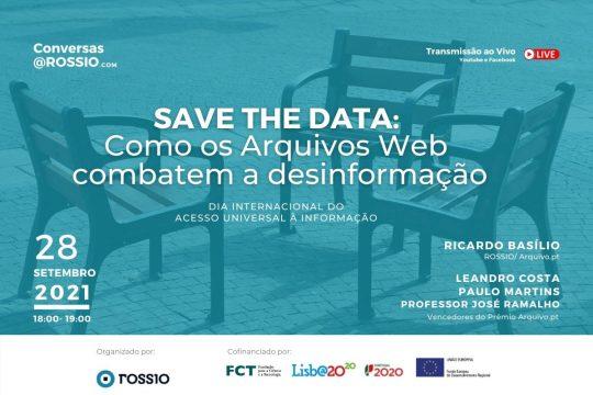 Save the data: Como os Arquivos web combatem a desinformação