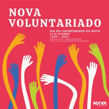 Dia do Voluntariado da NOVA