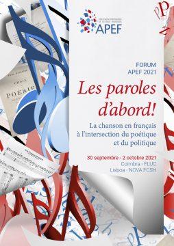 Les paroles d'abord! La chanson en français à l'intersection du poétique et du politique