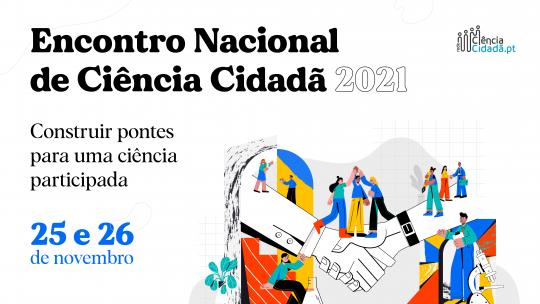 Encontro Nacional de Ciência Cidadã (25-26 novembro)