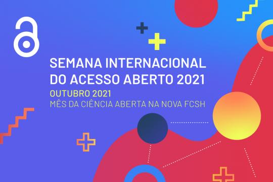 NOVA FCSH celebra Mês da Ciência Aberta 2021 em outubro