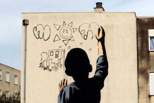 A arte urbana da Quinta do Mocho - visita guiada